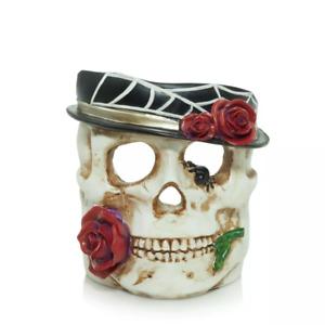 Yankee Candle - Halloween Phantasmagoria Skeleton Head Jar Candle Holder