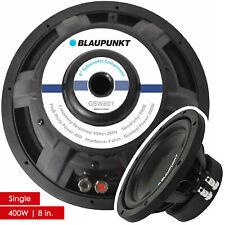 Blaupunkt GBW801 8-Inch Single Voice Coil 400W Power Subwoofer Speaker - Single