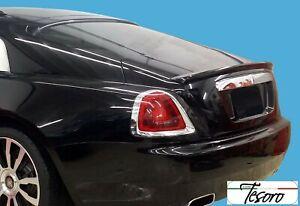 Rolls Royce Wraith 2013-17 Tesoro Rear Trunk Lip Spoiler flush Mount Made in USA