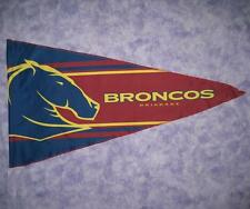 NRL BRISBANE BRONCOS FLAG Pennant style 900 x 500mm - NEW!