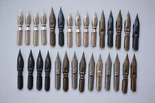 29pc vintage Soviet dip pen nibs set mixed calligraphy