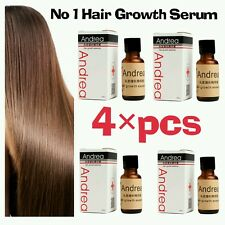 4×pcs Most Effective Andrea-asia's No1 Hair Growth Serum Oil 100 Natural Extract