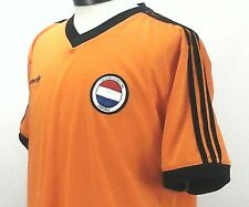 Adidas Nederlandsche Holland Netherland Orange France 1998 Jersey Soccer Large
