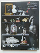 Catalogue Sotheby's, collections and curiosities, New York, 2017