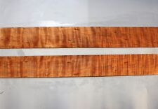 "JB354 Ripple Maple Tonewood Guitar Sides Set Acoustic Supply 32.4""x4.4""x0.2"""