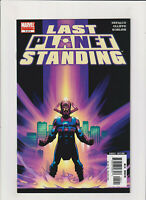 Last Planet Standing #5 NM- 9.2 Marvel Comics Galactus Avengers Silver Surfer