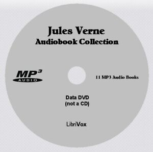 JULES VERNE Collection - 11 Audio Books on 1 MP3 Audio DVD
