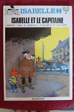 BD isabelle n°2 et le capitaine EO 1983 TBE will macherot delporte