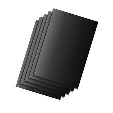 5x Dauerbackfolie schwarz | Antihaft Backpapier | Dauerbackpapier | Backfolie
