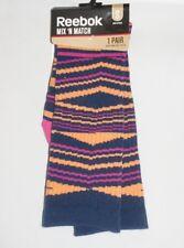 Reebok Crew Socks Striped Multicolor Girls Small