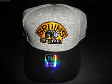 Boston Bruins Reebok Fitted Face Off NHL SAMPLE Hat #7 w/ TAG NEW Size S/M