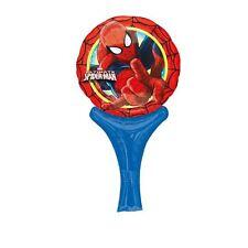 Spiderman Inflar a Diversión Aluminio MANO Globo Rellenos AIRE