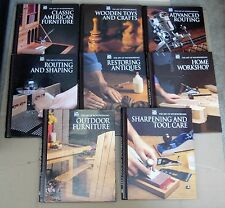 The Art of Woodworking x8 Routing & Shaping Home Workshop Outdoor Furniture etc