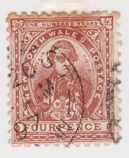 (AA-75) 1888 NSW 4d brown cook (A)