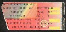 Original 1984 Rod Stewart concert ticket stub Hartford CT Camouflage Tour