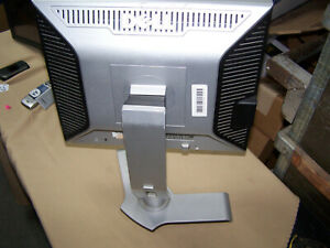 """Dell 1707FPt 17"""" LCD VGA DVI-D Monitor Plust adjustable stand"""