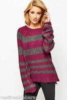 Pullover Maglione Lungo Donna Maglia BNYC D460 Tg M L