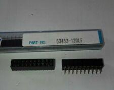 Embase femelle 2x10 pas 2mm - FCI 63453-120LF