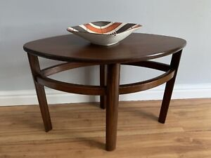 mid century Danish/ scandinavian coffee table teak  side table