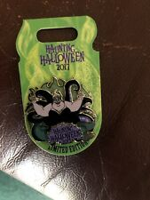 Disney Haunting Halloween 2017 Villains Ursula Pin LE Little Mermaid