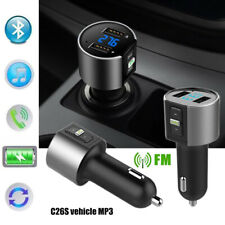 Auto MP3 FM Music Player fm Transmitter Blue tooth Handsfree Wireless In Car