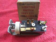 1960 LINCOLN & MERCURY HEADLIGHT SWITCH, NOS FOMOCO OEM C0MF-11654-C