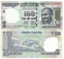 INDIEN INDIA 100 RUPEES 2016 NOVEL NUMBER LETTER R UNC P 105