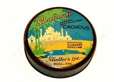 English Needler's Hull Cachous Shalimar Candy Tin 1920s