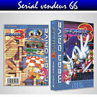 """BOX, CASE """"SONIC 3"""". MEGADRIVE. BOX + COVER PRINTED. NO GAME. MULTILINGUAL."""