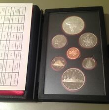 1982 Canada Double Dollar Proof Set - with COA
