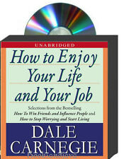 How To Enjoy Your Live and Your Job 5 CD set by Dale Carnegie NEW