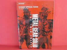 Metal Gear Solid The Twin Snakes Konami Official Perfect Guide Book / GC