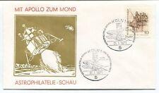 1971 Apollo Zum Mons Astrophilatelie Schau Koln 1 Deutsche Bundespost SPACE NASA