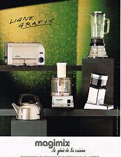 PUBLICITE ADVERTISING 094  1992  MAGIMIX le génie de la cuisine