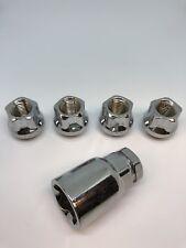 Wheel Lock Nuts 12x1.25 Open End Bulge Acorn Fits Nissan Infiniti