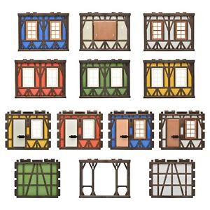 Playmobil Timber-Frame Castle Knight Castle Fachwerkwände Spare Part