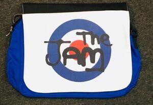 The Jam - (logo) Official Messenger Carry Shoulder Bag (Blue) Laptop NEW -