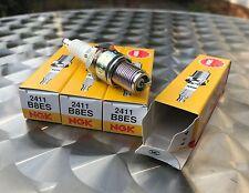 Satz - 4x NGK Zündkerzen B8ES - Z750, Z900, Z1000, Z1R, Z1000J, spark plugs