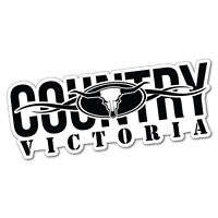 Country VIC Victoria Sticker Decal Outback 4x4 Ute Country Aussie #5687E