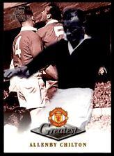 Futera Manchester United Greatest Platinum 1999 - Allenby Chilton