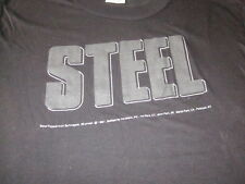 Vintage 1981 Steel Peppermint Schnapps 80S Muscle Tee Shirt Large