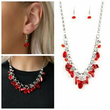 Paparazzi Necklace -  I want to Sea the World set in red