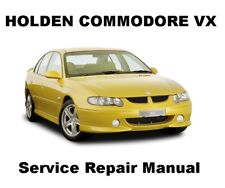 COMMODORE VX BERLINA CALAIS Auto Owners Workshop Service Repair Manual PDF CD-R