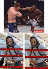 "JON JONES signed Autographed ""UFC"" 8X10 PHOTO e PROOF - Bones UFC GOAT Champ COA"