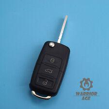 Flip Folding Remote Key Case Shell For VW Passat Golf Beetle Jetta Rabbit FOB 3B