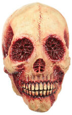BLOODY SKULL SCARY LATEX HEAD MASK HALLOWEEN HORROR