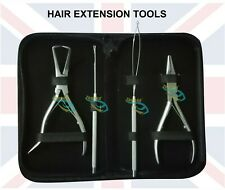 Micro Ring Removal Plier Kit With Crochet   Hair Extension Pliers & Needles Kit