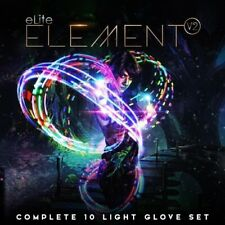 EmazingLights Elite Element V2 Light Up LED Glow Gloves - As Seen on Shark Tank