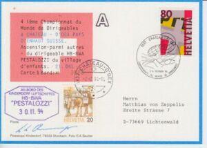 Zeppelin - Luftschiff -  Schweiz  1994
