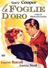 Dvd LE FOGLIE D'ORO (1950)  Lauren Bacall,Gary Cooper ** A&R Productions **